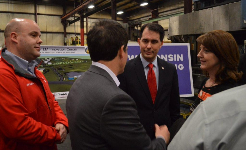 Governor Scott Walker Visit